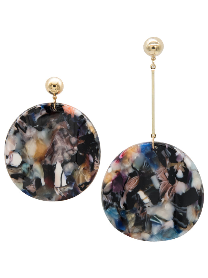 Evangelia Mismatch Drop Earrings