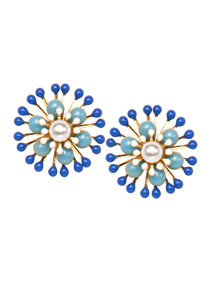 Azul stud earrings