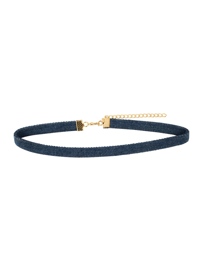 Lulu Denim Choker