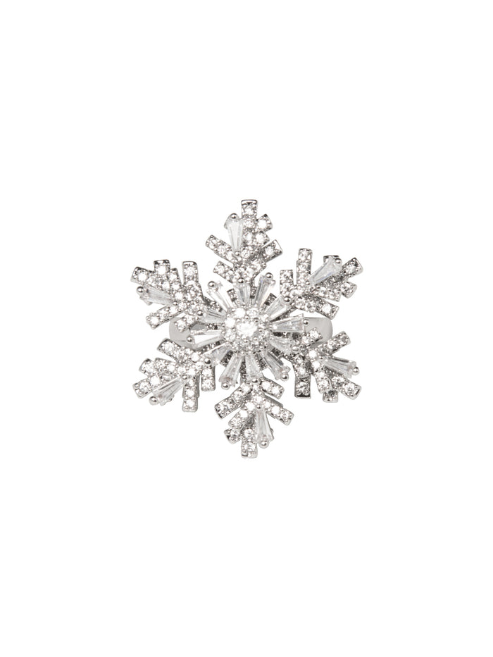 Spin a Snowflake Ring