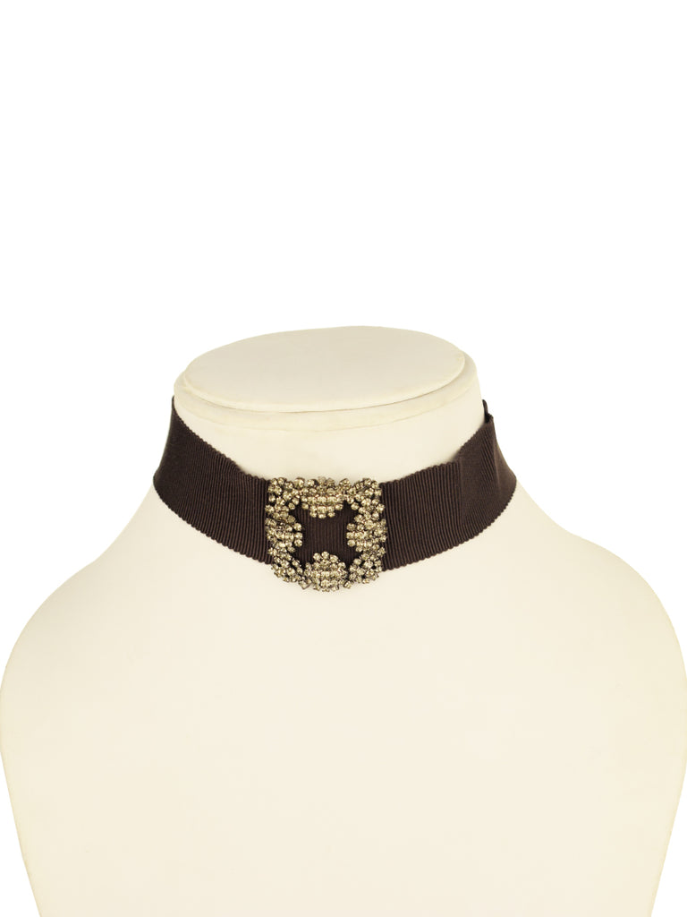 Toujours crystal choker in Cinder