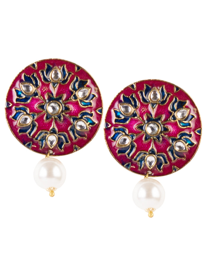 Tara Enamel earrings