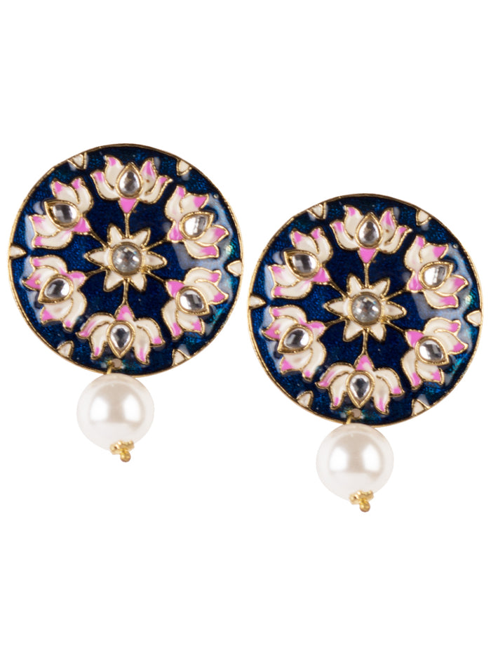 Zariya Enamel earrings