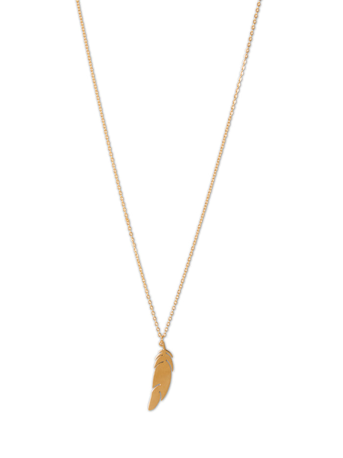 Feuille Necklace