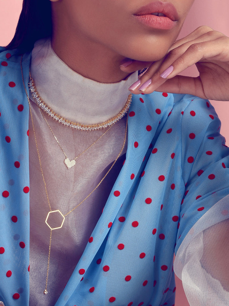 Loco-love Pendent in Gold