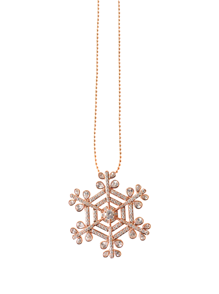 Stellar Pendant in Rose Gold