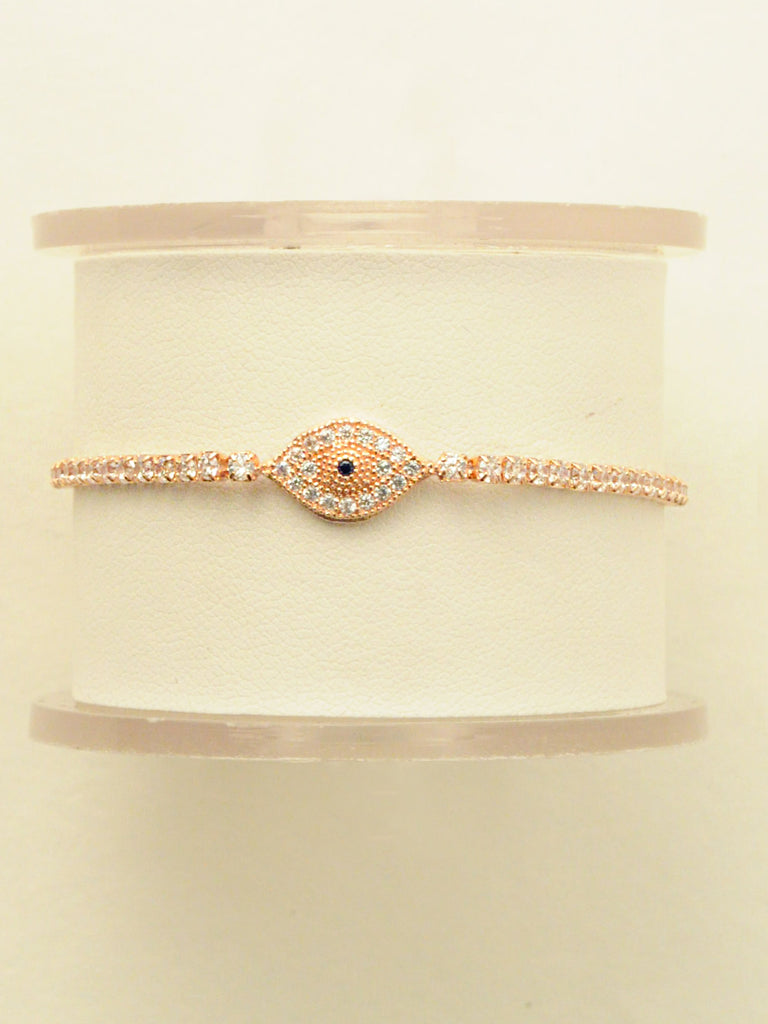 Marrakech Blush Evil Eye Bracelet