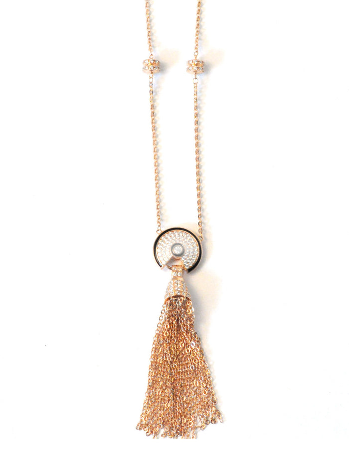 Oriental Tassel Necklace