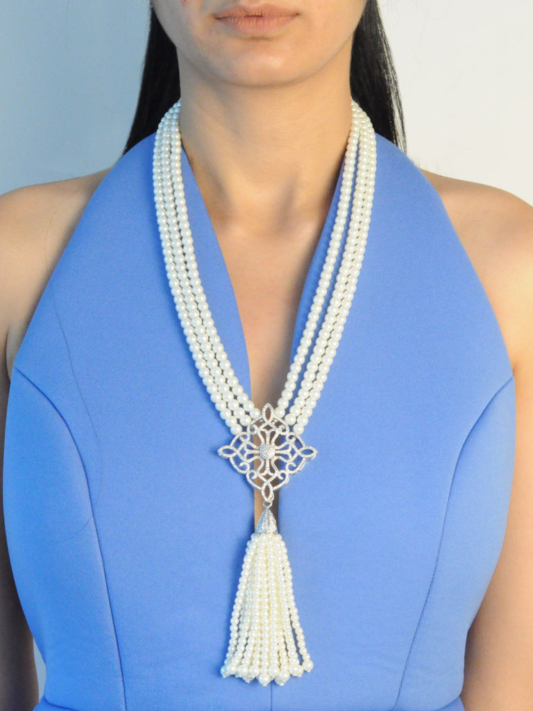 Niloufer Pearl Necklace