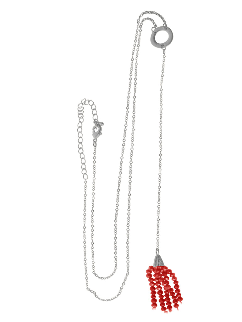 Coachella Necklace in Red