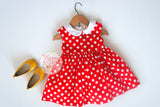 Minnie mouse girl dress Minnie mouse costume