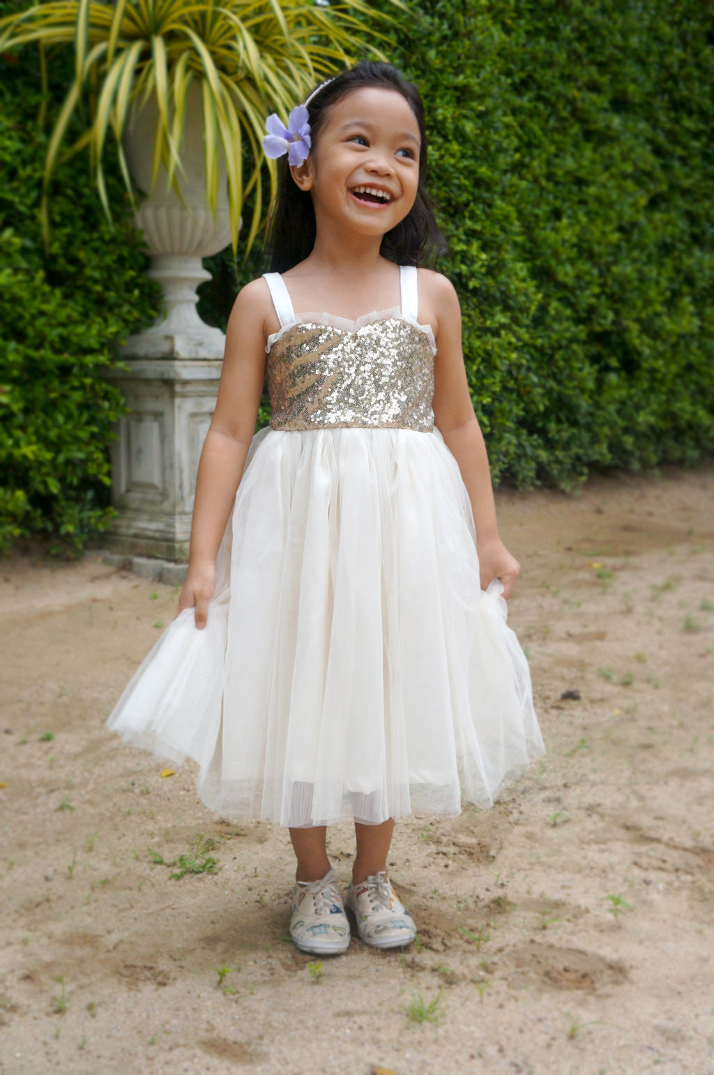 Flower girl dress rose gold and blush tulle dress junior flower girl dress rose gold and blush tulle dress junior bridesmaid dress blush flower girl dress ombrellifo Image collections