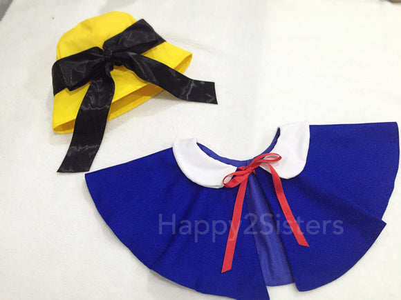 Madeline costume cape and hat Girl madeline girl dress Madeline costume kids Halloween costume idea