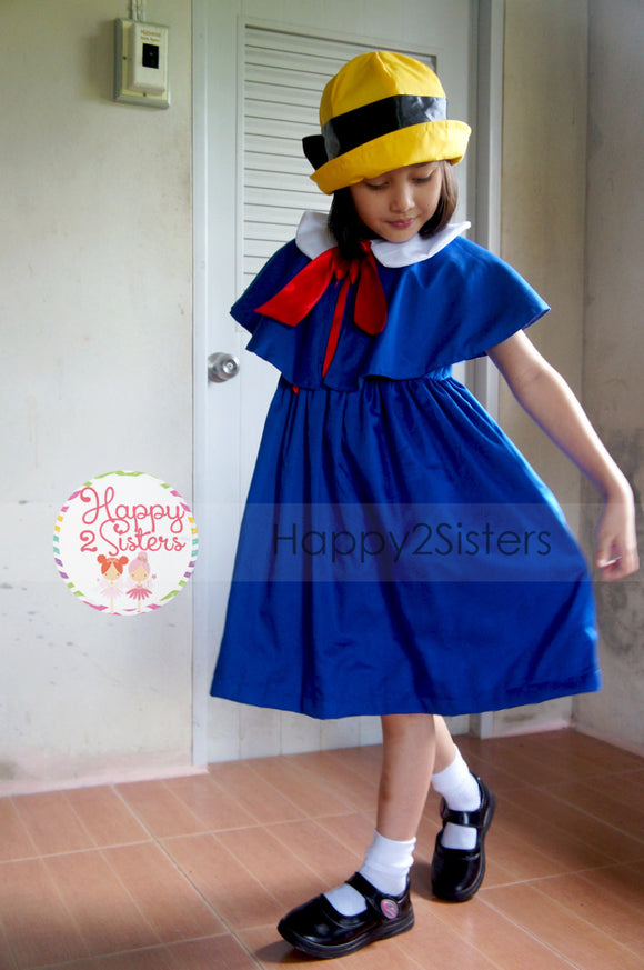 Madeline costumes girls dress Girl halloween costume Madeline girl dress Madeline costume