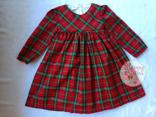Long sleeve girls dress Christmas girl dress