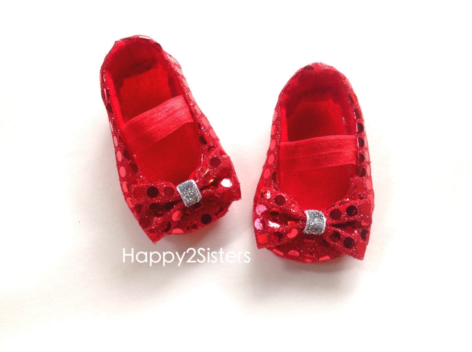 Red baby Girl Shoes, Baby soft sole
