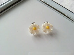 Clip-On Earrings Flower Girls earrings Every day earrings Kid Earrings Play earrings