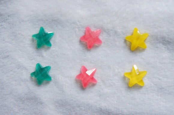 Clip on earring Kids earrings Girls earrings Star earrings toddler earrings Girl gift Play earrings