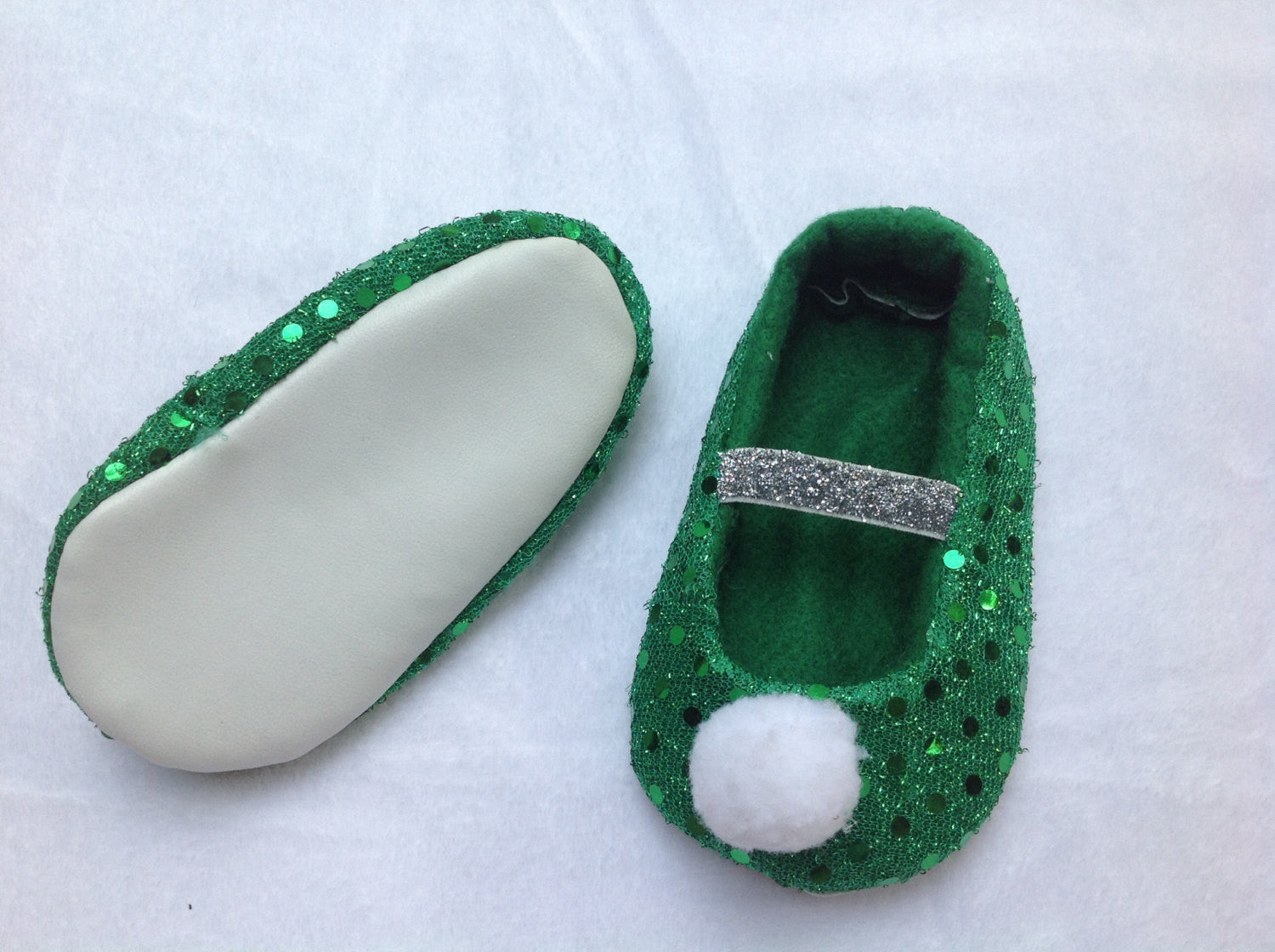 Fabric baby Shoes, Tinkerbell baby