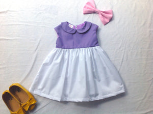 Daisy duck toddler costume Girls costume dress Halloween girl costume Disney daisy duck