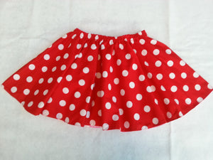 Girls twirl skirt Minnie mouse skirt Minnie mouse coustume for girl Disney mickey mouse