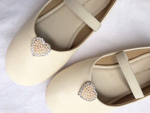 Ivory flower Girl Shoes Flower girl shoes Toddler girl shoe