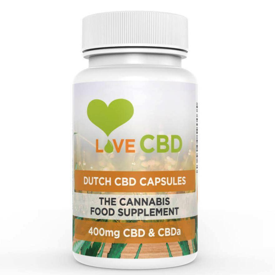 Love CBD: Dutch Capsules x 80 - 400mg