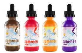 SUMMER HOLIDAYS - BLACK ORANGE CRUSH BY DINNER LADY 50ML