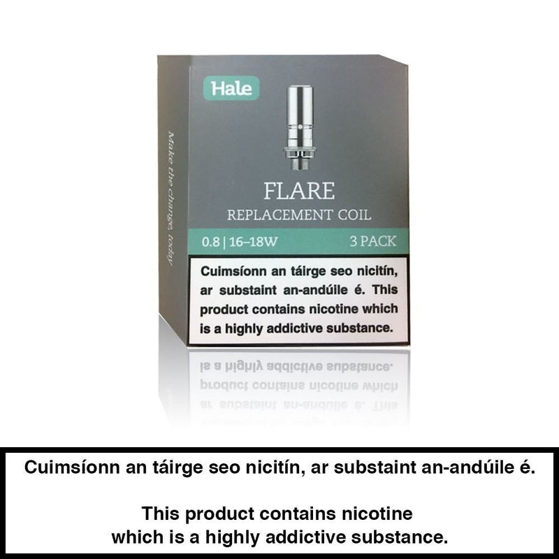 Hale: Flare Replacement Coils (Pack Of 3)