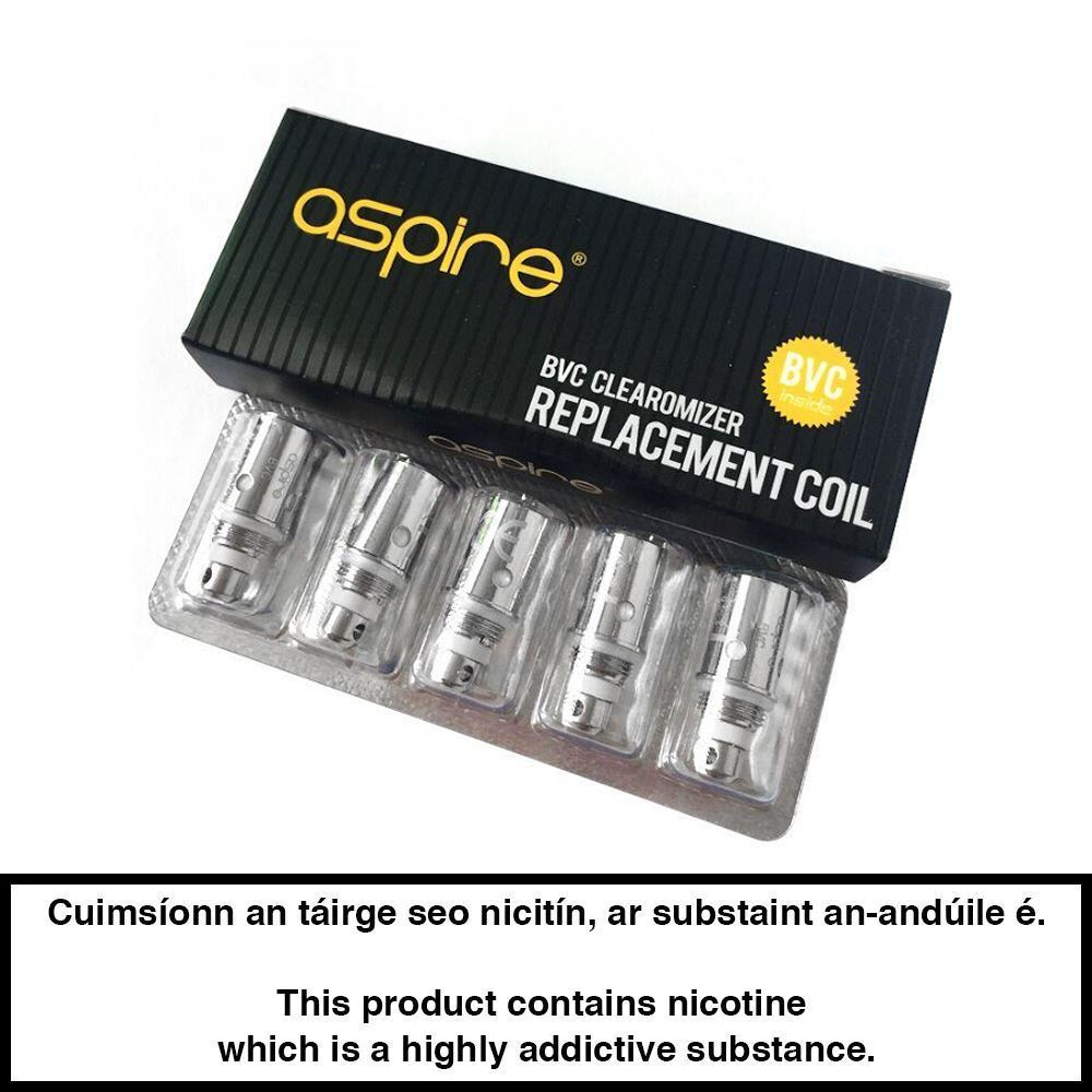 Aspire Bvc Coils ( 5 Pack)