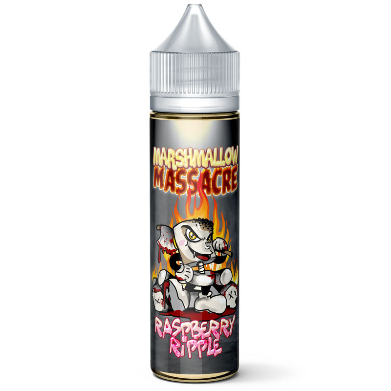 Marshmallow Massacre: Raspberry Ripple 50ml E-Liquid - 0mg