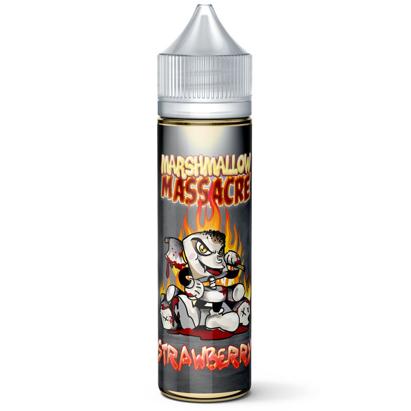 Marshmallow Massacre: Strawberry 50ml E-Liquid 0mg