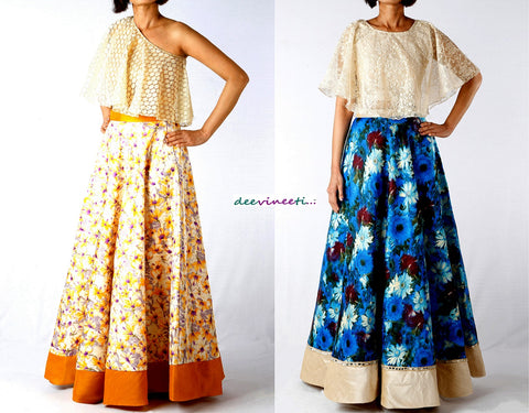 Maxi Skirt with Top