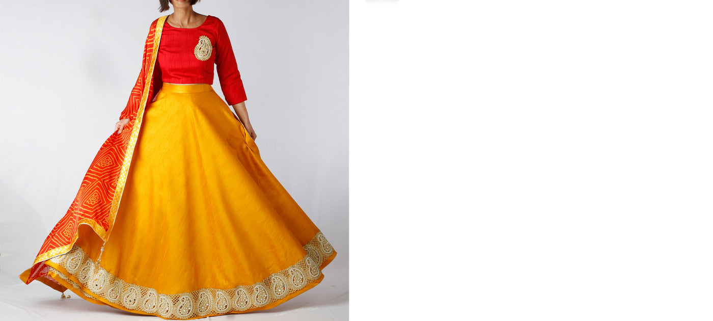 MADE TO ORDER LEHENGA
