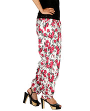 DeeVineeTi Women's Crepe Multicolor Floral Printed FreeSize Patiala Salwar DVSR0013 Right