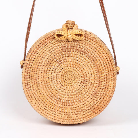 Straw Cross Body Bag