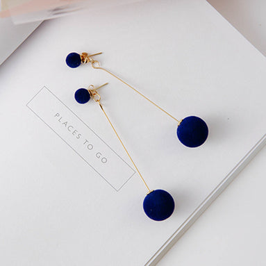 Long Ball Drop Earrings