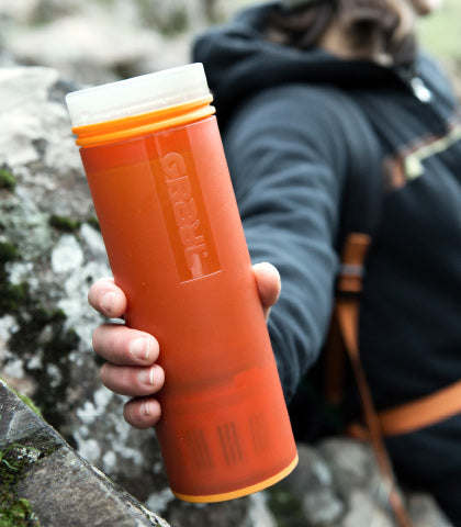 Clean Living! We Review The Grayl Ultralight Water Filter
