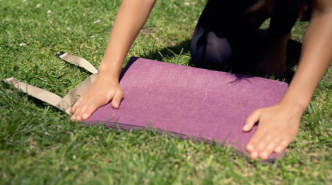 Yogo Ultralight Yoga Mat Plum