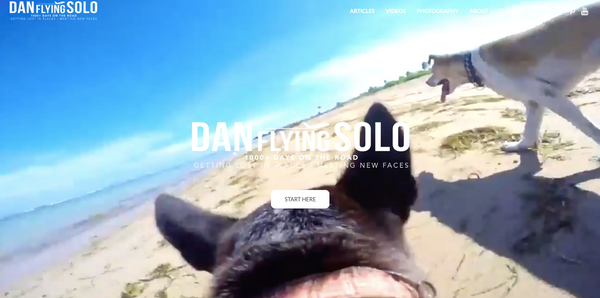 Dan Flying Solo Travel Blog