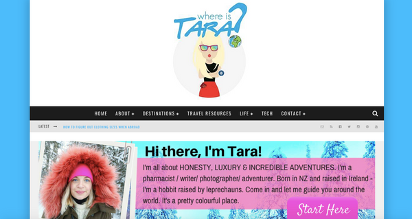 Where is Tara Travel Blog