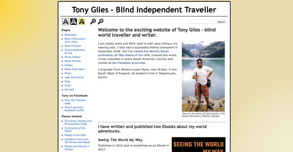 Tony the traveller travel blog