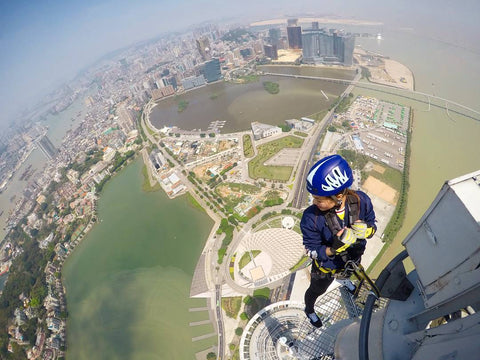 macau tower bungee jump