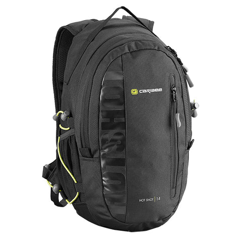 Caribee Hot Shot Hydration Ready Backpack - Black