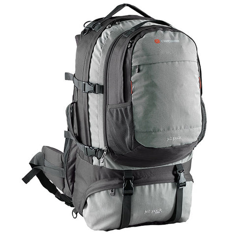 Caribee Jet pack 75L Travel Backpack - Storm Grey