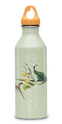 MIZU M8 Soft Touch Bottle 800ml - Aloha Glossy Mint