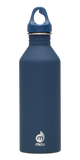 MIZU M8 Soft Touch Bottle 800ml - Blue