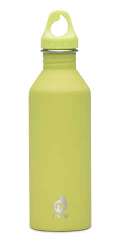 MIZU M8 Soft Touch Bottle 800ml - Lime