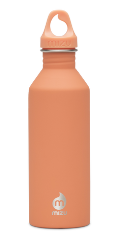 MIZU M8 Soft Touch Bottle 800ml - Peach