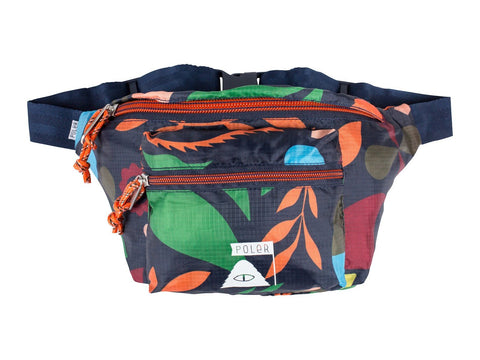 Poler Stuffable Bum Bag 6L - Navy Rainbow